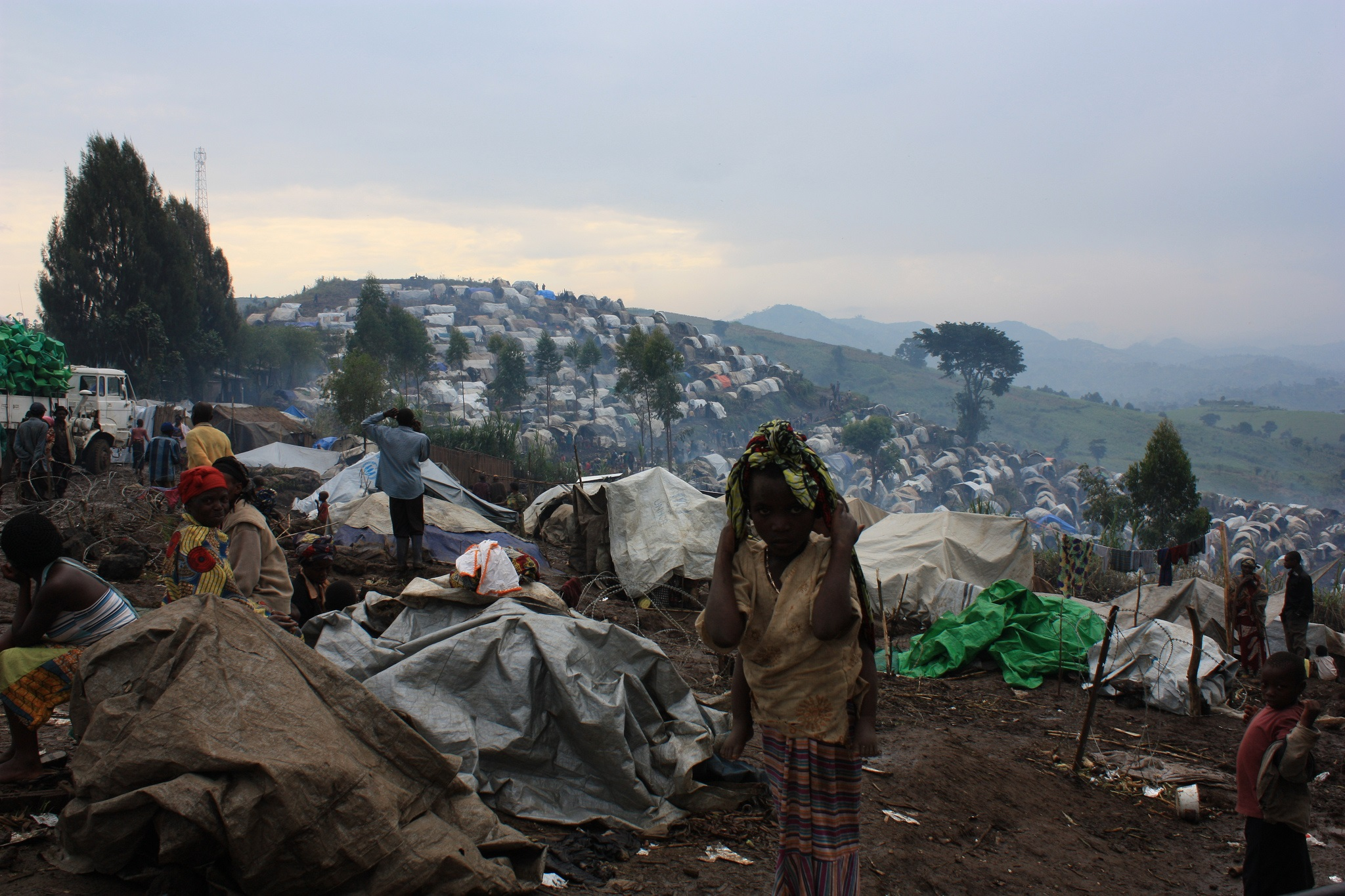IDPs in North Kivu