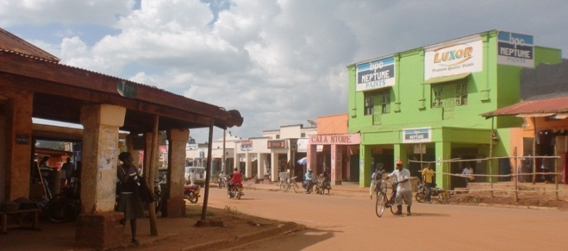 Gulu town and its residents