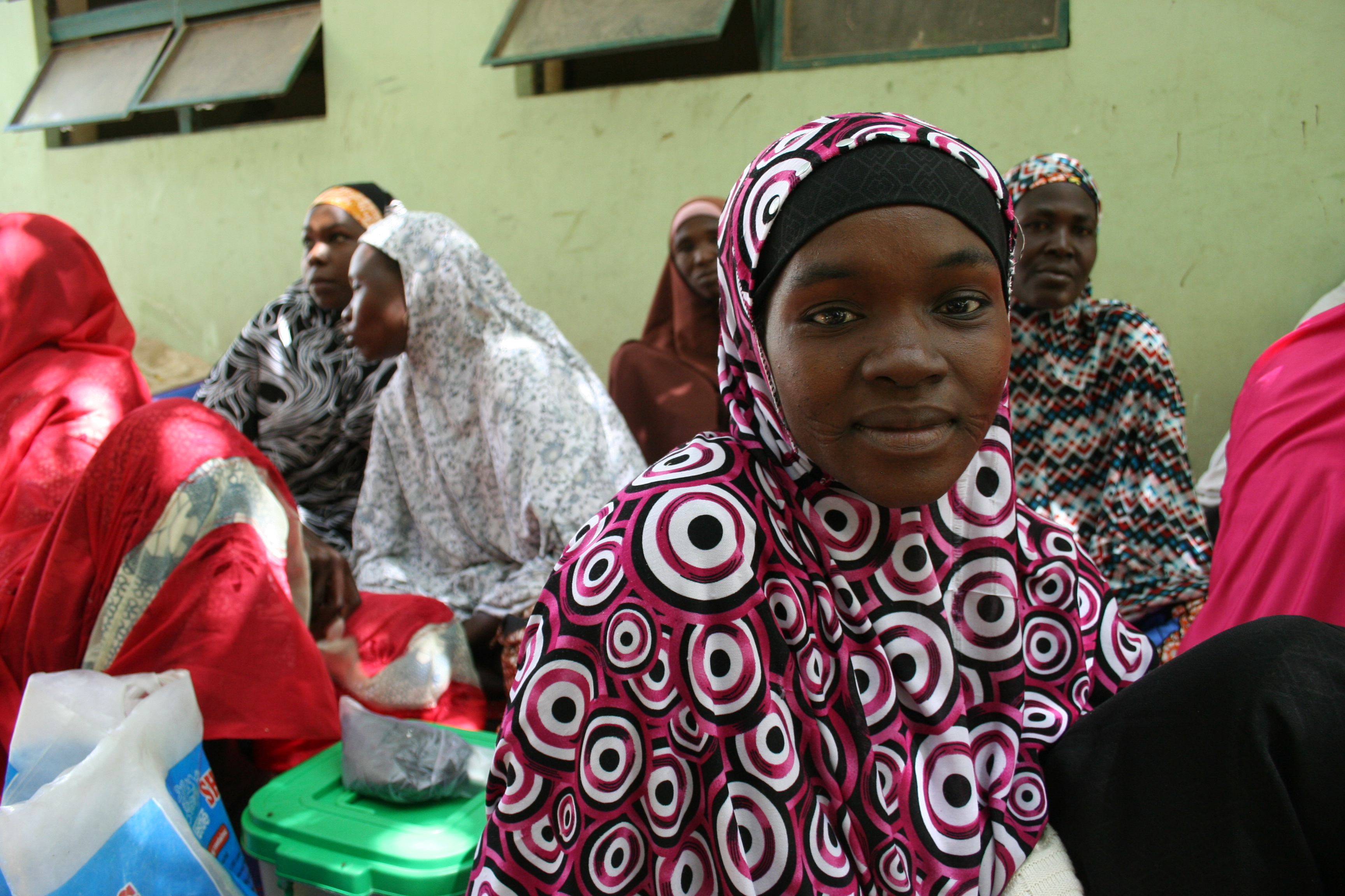 Displaced women in Maiduguri