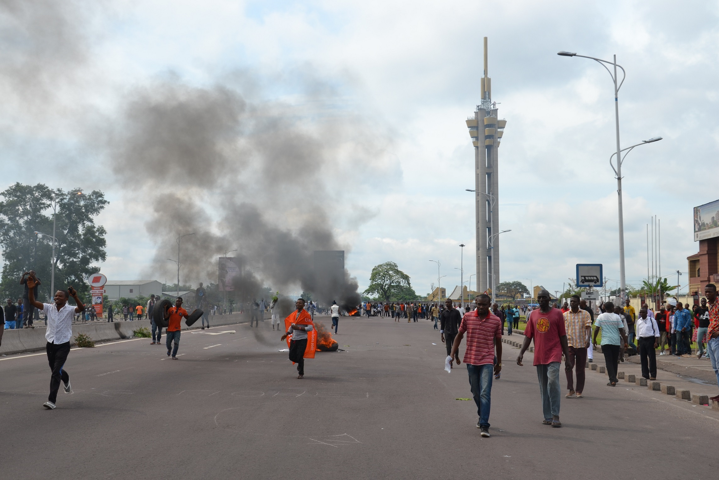 Protest in Kinshasa, September 2016