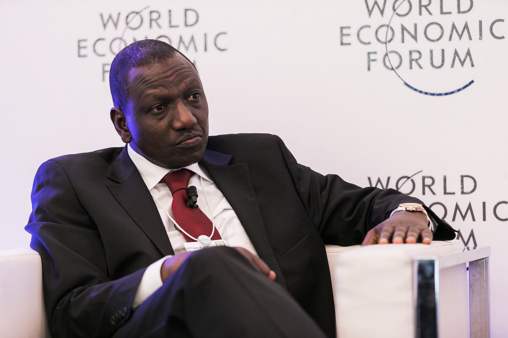 William Arap Ruto , Deputy President of Kenya