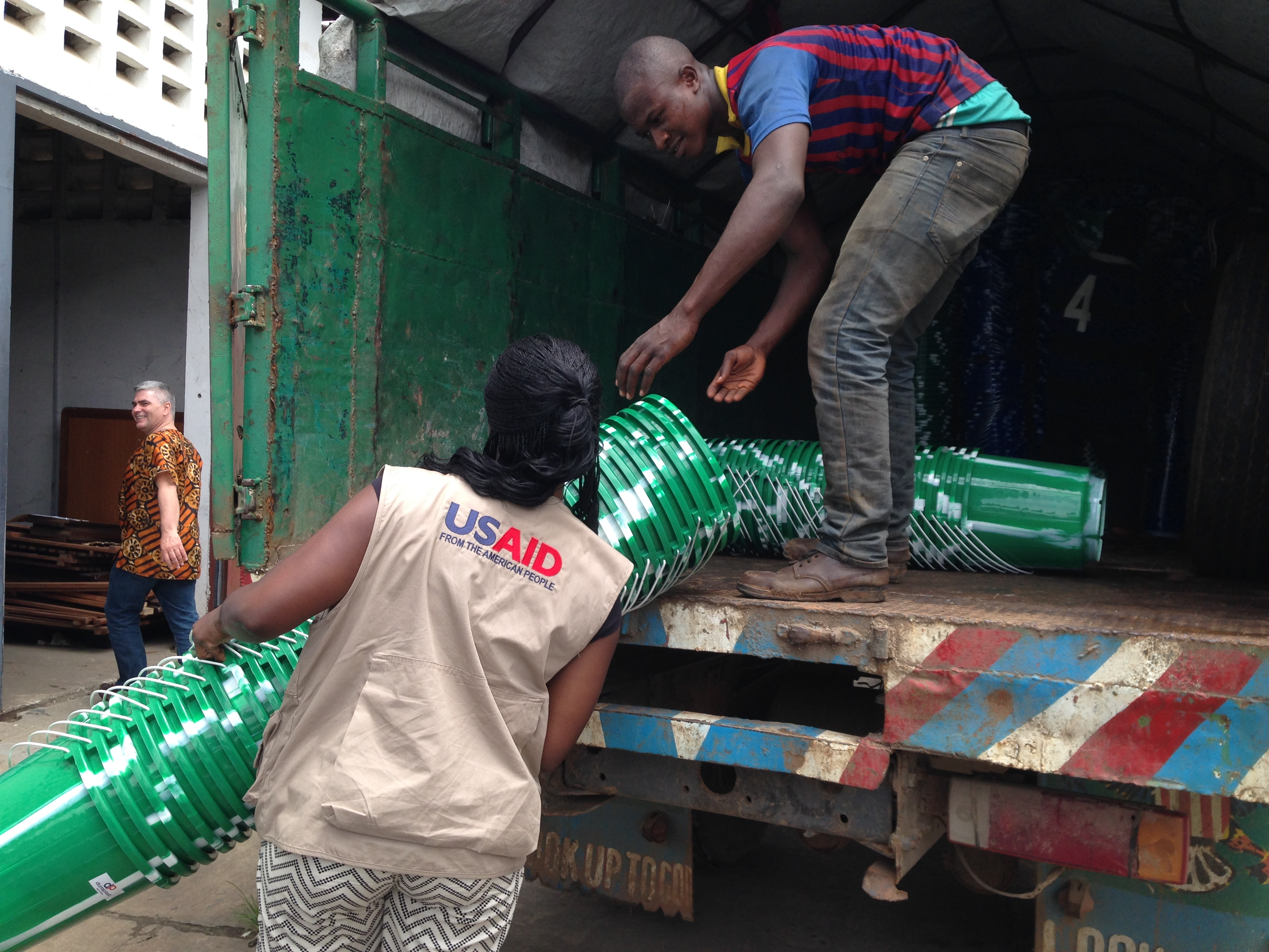 USAID hygiene items for Ebola response