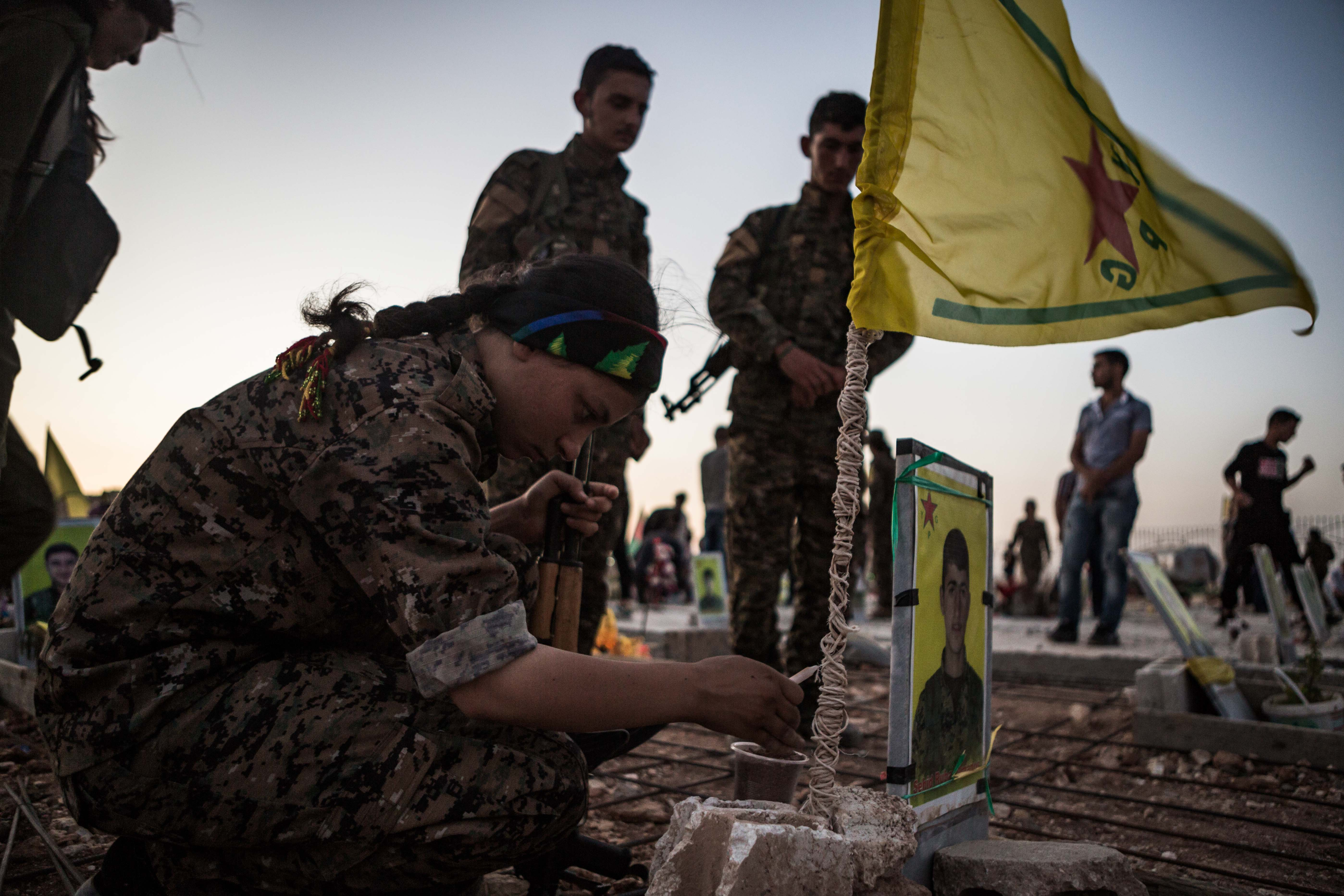 The Kurdish struggle in northern Syria