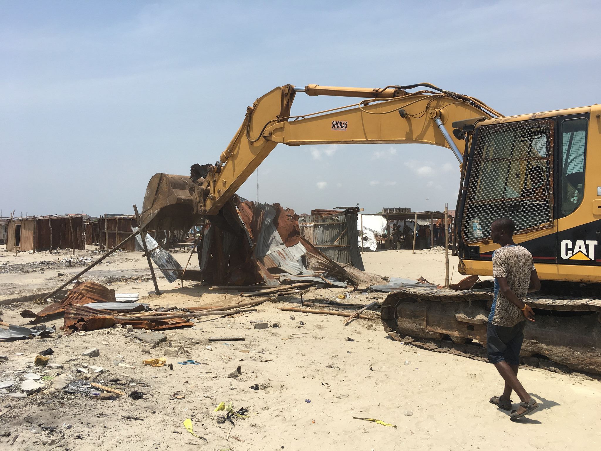 Demolition of Otodo-Gbame on 17 March 2017