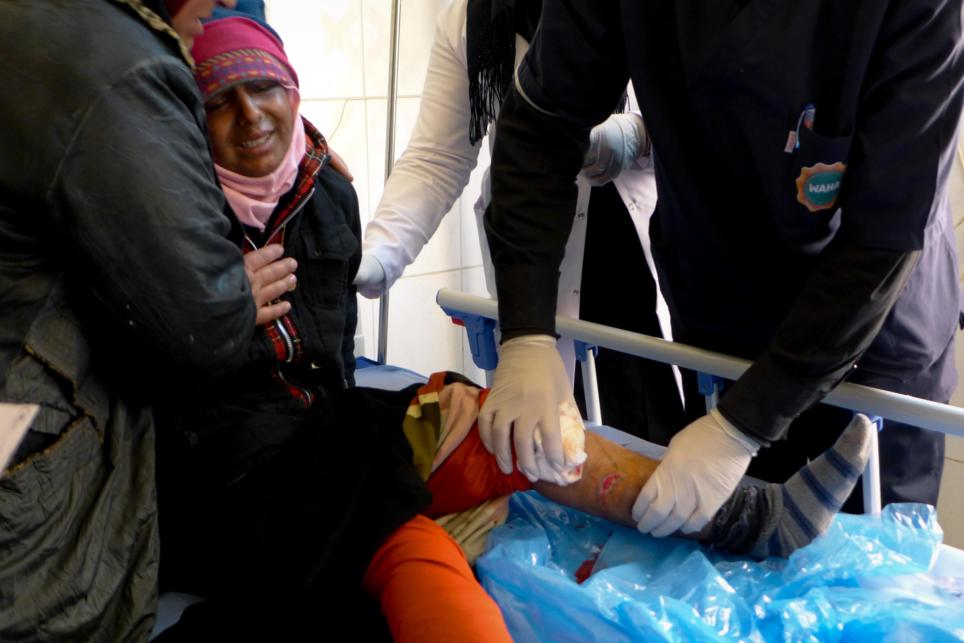 Inside east Mosul's growing healthcare emergency
