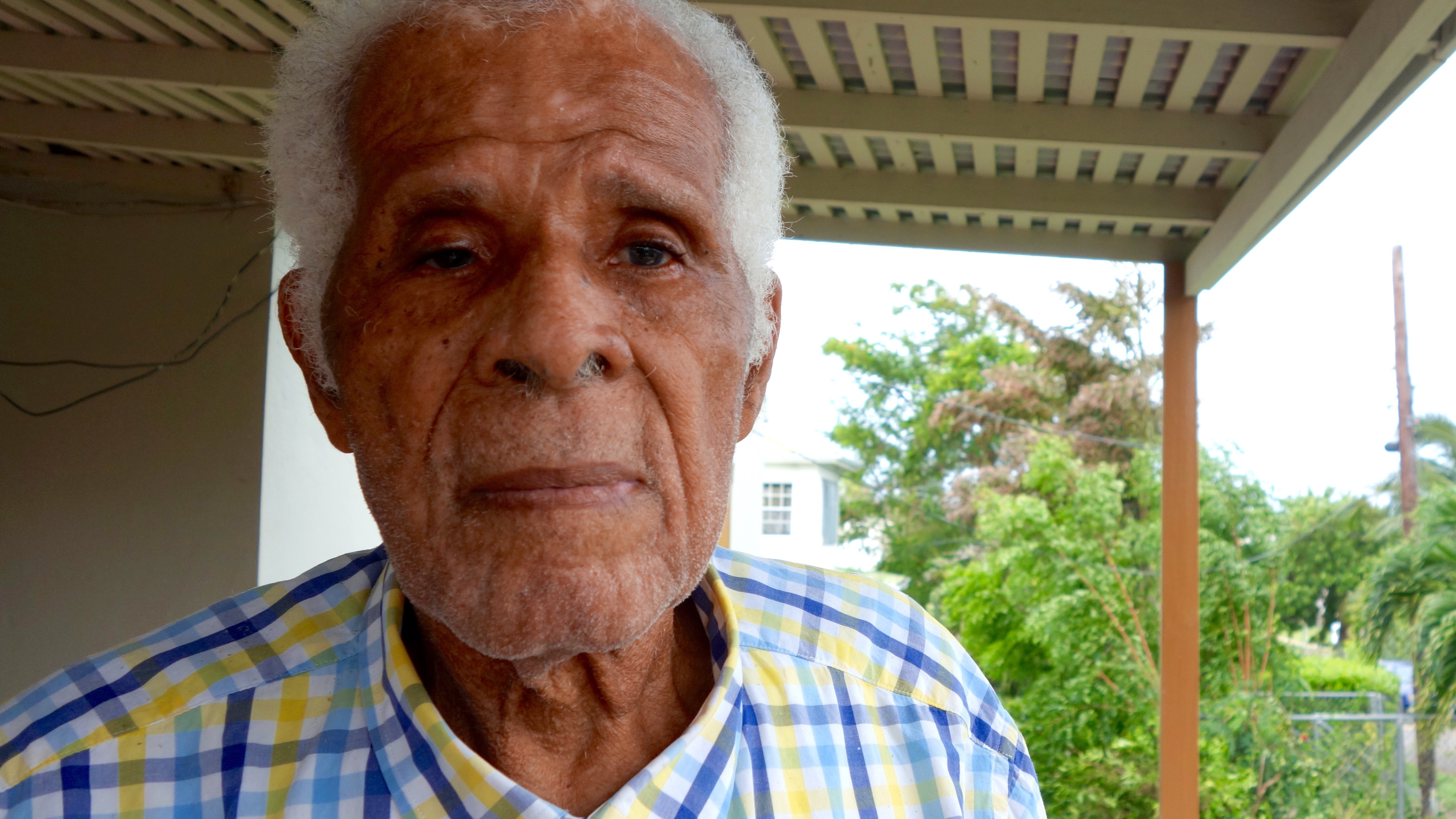 Hilbourne Frank, veteran Barbuda leader