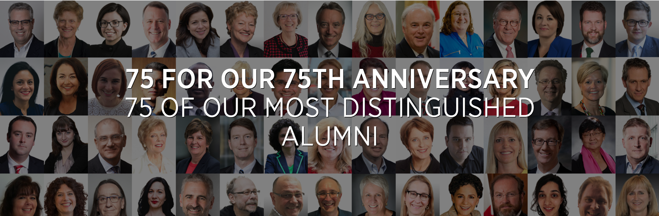IRIN Director recognized by Carleton University as one of seventy-five most inspiring alumni on 75th Anniversary