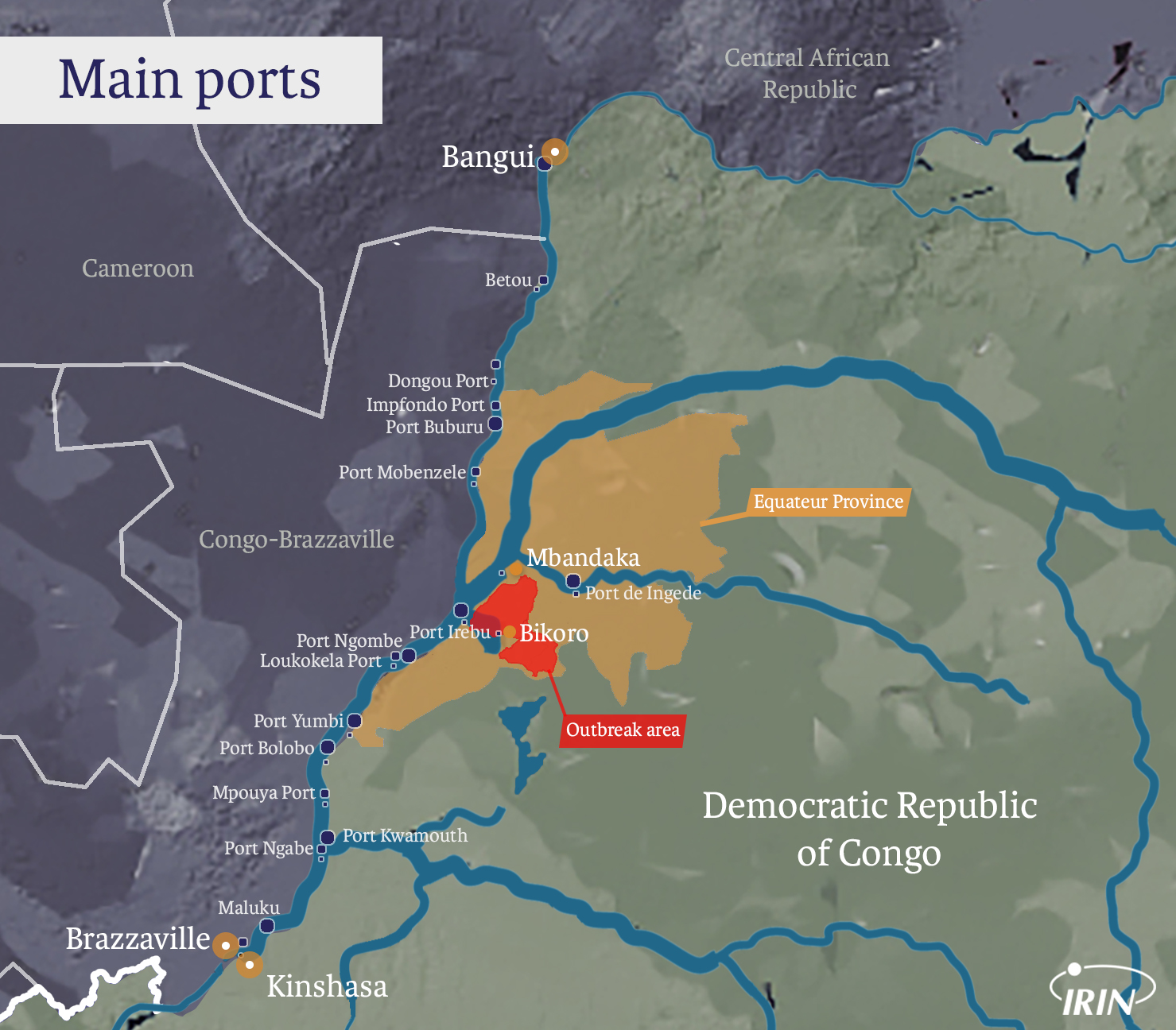 Irin Ebola Fear Suspicion And Anger Along Congos