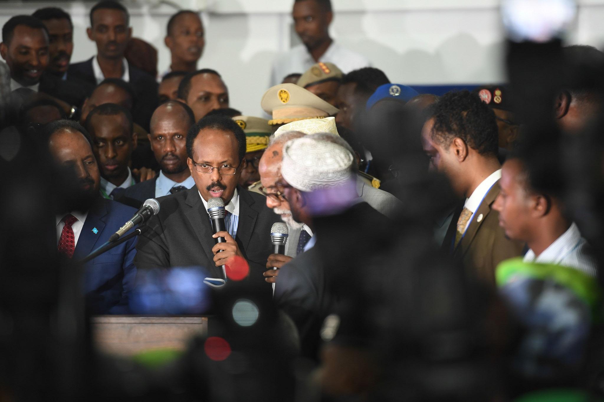 Somalia President Mohamed Abdullahi Farmajo