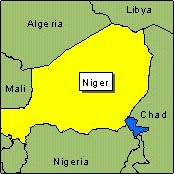 Country Map - Niger