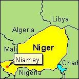Country Map - Niger (Niamey)