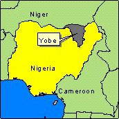 Country Map - Nigeria (Yobe State)