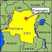 Country Map - DRC (Kisangani)