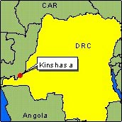 Country Map - DRC (Kinsasha)
