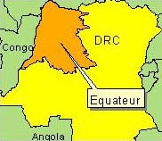 Country Map - DRC (Equateur)