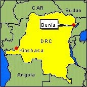 Country Map - DRC (Bunia)