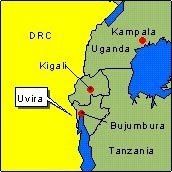 Country Map - DRC (Uvira)