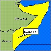 Country Map - Somalia