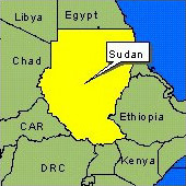 Country Map - Sudan