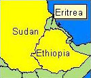 Country Map - Sudan, Ethiopia