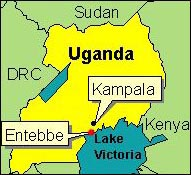 Country Map - Uganda (Entebbe)