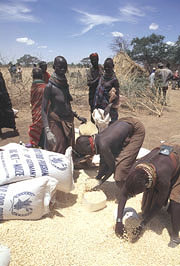 [Kenya] Nanam food distribution point - WFP