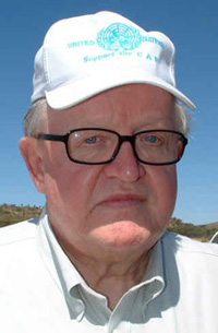 [Horn of Africa] Martti Ahtisaari, UN Special Envoy for the Humanitarian Crisis in the Horn of Africa.
