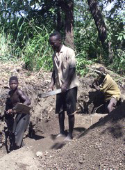 [Nigeria] Child labourers.