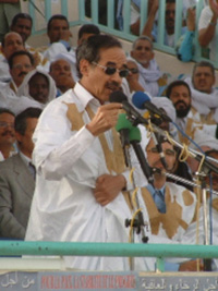 [Mauritania] President Maaouya Ould Taya has ruled since 1984.