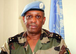 [DRC] Outgoing MONUC force commander Maj-Gen Mountaga Diallo.