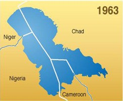 Lake Chad is 1963