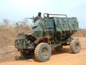 [Uganda] UPDF searching for LRA in northern Uganda.