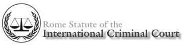 The International Criminal Court (ICC) Logo.