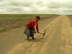 [South Africa] Road works programme targets vulnerable for employment.