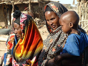 [Ethiopia] Mother and child.