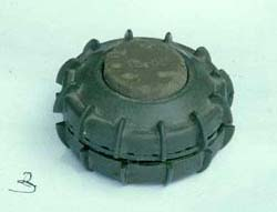 [Sudan] An example of one of the most commonly used anti-personnel mines in southern Sudan.
