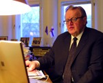Martti Ahtisaari, Personal Envoy of the Chairman-in-Office of the OSCE in Central Asia.