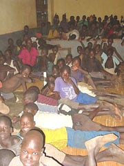 [Uganda] Night Stayers, Gulu Kitgum, northern Uganda. Credit: Valerie Julliand - Head of OCHA Regional Support Office for Central and East Africa.