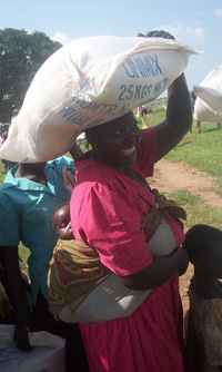 [Uganda] LRA attacks on aid convoys have made food distributions a dangerous affair.