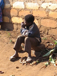 [Swaziland] Young boy - 9-year-old Sifiso.