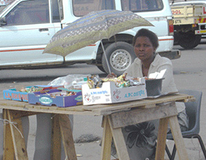 [South Africa] women street traders were found to be one of the highest risk groups with regards to HIV/AIDS. some experts estimate up to 70% of female traders to be infected with the virus.