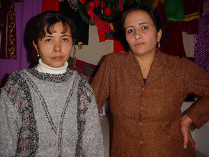 [Tajikistan] Two Afghan women in Dushanbe.