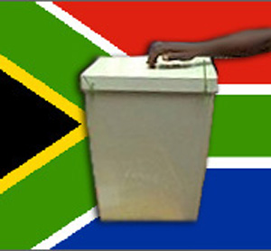 [South Africa] Elections (Ballot box).