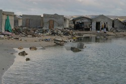 [Somalia] Tsunami damage in Hafun. Hafun - an island on the northern part of the cost of Punland.