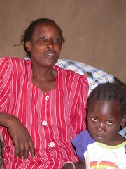 "[Kenya] Pamela Dola, 32, lives with HIV in western Kenya. She refused to be ""inherited"" when her husband died, saying she did not want to infect someone else. She is bringing up eight children, including her brother-in-law's orphans.