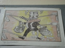 [Sierra Leone] Anti corruption poster on a wall in the anti corruption commission. [Date picture taken : 12/09/2005]