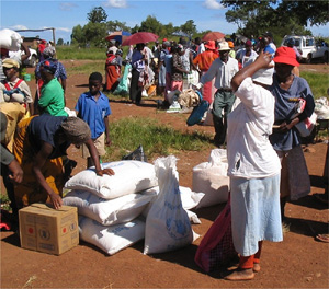 [Swaziland] More than a quarter of Swaziland's population relies on food aid.