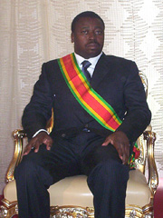 [Togo] Faure Essozima Gnassingbe named as head of state by the armed forces of Togo.