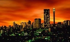 [South Africa] Hillbrow sunset.
