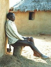 [Swaziland] Babe Simelane lost his son to HIV/AIDS and must care for his granchildren.